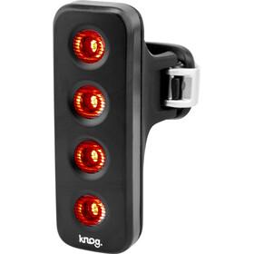 Knog Blinder MOB V The Face - Éclairage vélo - LED rouge noir
